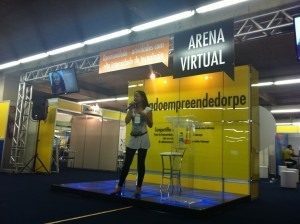 Belle Silva na Feira do Empreendedor do Sebrae PE - Arena Digital