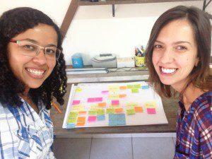 Belle Silva e Samanta Fluture - Construção da Blending Visions